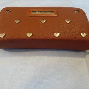 Carven leather women's wallet